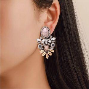 New Women's Fashion Crystal  Earrings